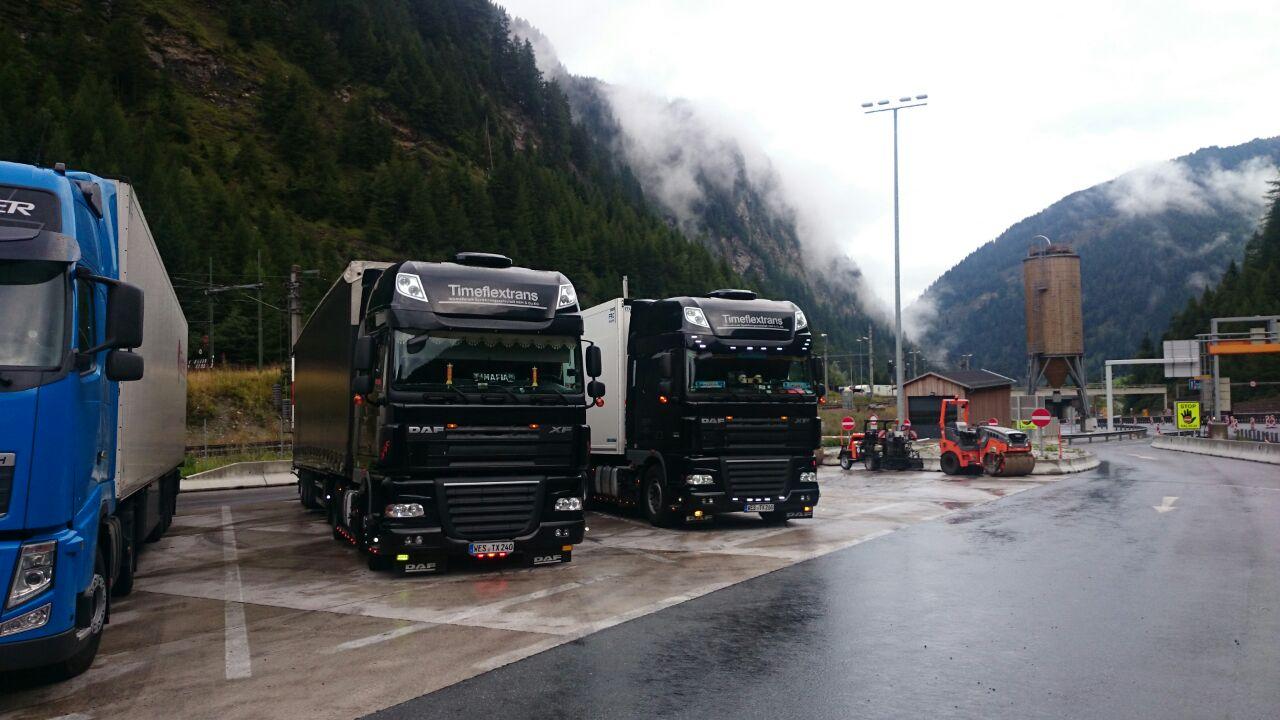 Europaweiter Straßentransport